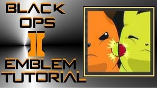 getlinkyoutube.com-Call of Duty Black Ops 2 : Raichu vs Pikachu Pokemon Emblem Tutorial