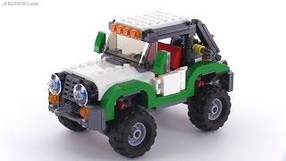 getlinkyoutube.com-LEGO Creator Adventure Vehicles ALL 3 builds reviewed! set 31037