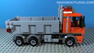 getlinkyoutube.com-LEGO CITY DUMP TRUCK 4434