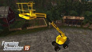 getlinkyoutube.com-Farming Simulator 15 - Haulotte H14TPX Skylift