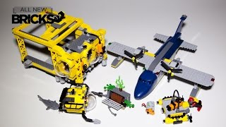 getlinkyoutube.com-Lego City 60096 Deep Sea Operation Base Speed Build