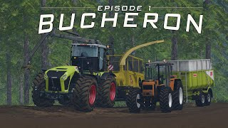 getlinkyoutube.com-FS 15 / Bucheron / map la vielle souche / Episode 1