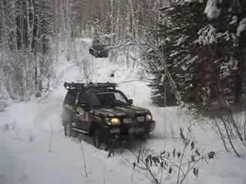 Прадо в снежную гору 1-я попытка