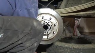 getlinkyoutube.com-Rear axle seal replacement on a Chevy 2500 HD