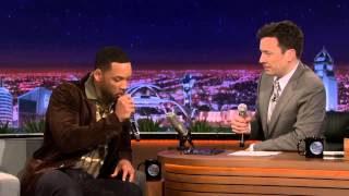 Will Smith & Jimmy Fallon Beatbox 'It Takes Two' Using iPad App