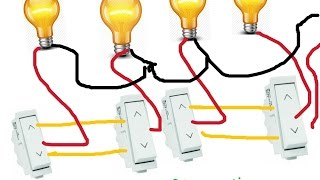 getlinkyoutube.com-TWO WAY SWITCH CONNECTION for many more lights in HINDI (Hindi/Urdu)- YouTube SEO Electro Technic