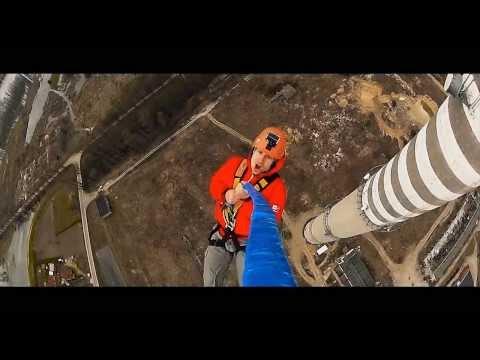 Dream Jump - Cam-L - Dream Tower 222m Głogów - Rope Jump - BUNGEE BUNGY