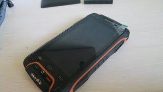 getlinkyoutube.com-Посылки из Китая -Не Убиваемый телефон Huandoo V3 - 4 Ядра! (Mtk 6582)