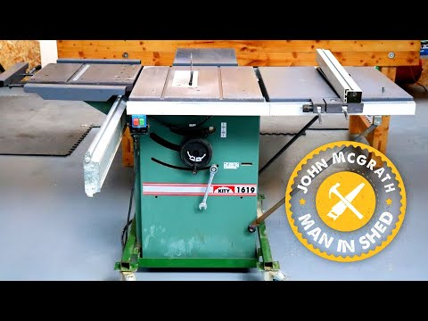 Restoring a Kity 619 Table Saw Youtube Thumbnail