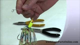 getlinkyoutube.com-How to make a Spinnerbait