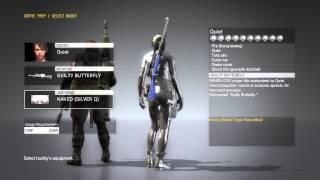 getlinkyoutube.com-Metal Gear Solid 5 Phantom Pain - Quiet All Bonding Costumes (Quiet Max Bond Level)