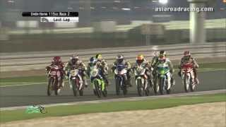 getlinkyoutube.com-Round 6 Qatar - Underbone 115cc Race 2 (full) - PETRONAS Asia Road Racing Championship