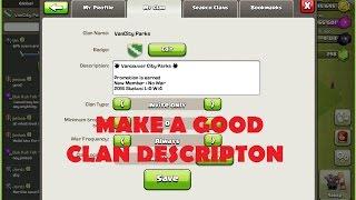 getlinkyoutube.com-CoC Clan Description Line Break