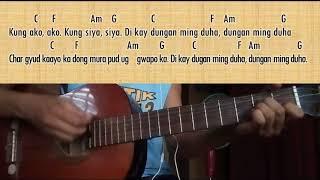 Baga Kag Face - Malaya Macaraeg Guitar Cover