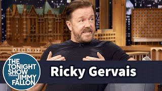 flushyoutube.com-Ricky Gervais Attempts the Most Impressions in 30 Seconds