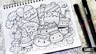 getlinkyoutube.com-Kawaii Food - Hello Doodles - Easy and Kawaii Drawings by Garbi KW