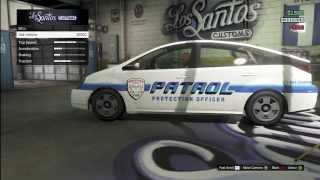 getlinkyoutube.com-GTA V Online - Customizable Merryweather Patrol Car