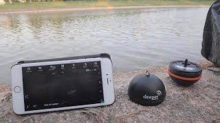getlinkyoutube.com-ทอดเเหจับปลาด้วยอุปกรณ์สุดไฮเทคค้นหาปลาโซน่าdeeper fishfinder