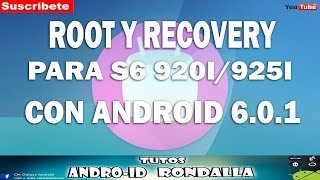getlinkyoutube.com-ROOT Y RECOVERY PARA GALAXY S6 FLAT/ EDGE 920I/925I CON ANDROID 6.0.1
