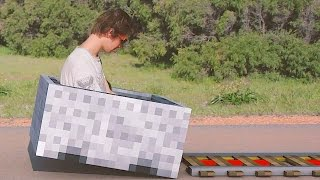 getlinkyoutube.com-Minecraft In Real Life | The Griefer