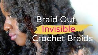 getlinkyoutube.com-Braidout on Crochet Braids | Cuban Twist Hair
