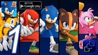 getlinkyoutube.com-Sonic Dash 2: Sonic Boom Android iOS Walkthrough - Gameplay - All Characters