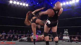 Maria Kanellis Sexy SuperKick  ROH