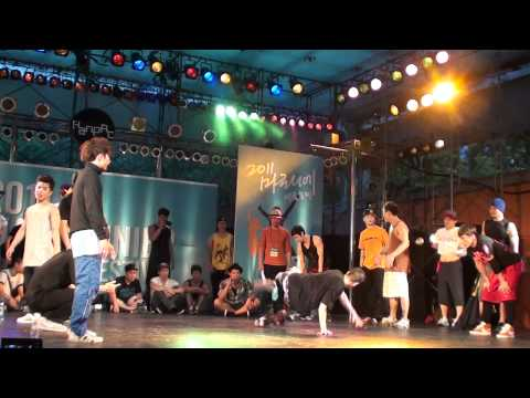 First Korea Bboy vs New Generation Bboy | Special Battle | marronnier summer festival 2011