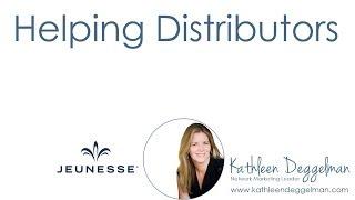 Get Distributors Started Right with Jeunesse Top Earner Kathleen Deggelman