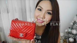 getlinkyoutube.com-Review: Chanel Mini Flap♥WIMB+How to wear+WOC| Angelbirdbb