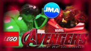 getlinkyoutube.com-Lego Avengers: Hulk vs Hulk Buster Iron Man - BrickFilm/Stop Motion