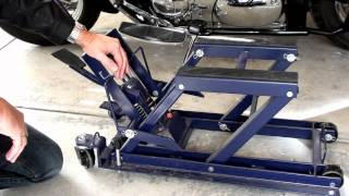 getlinkyoutube.com-Hydraulic Motorcycle Jack