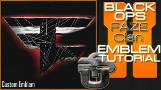 getlinkyoutube.com-FaZe Clan Logo EPIC : Call of Duty Black Ops 2 Emblem Tutorial