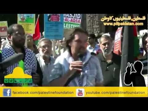PLF Al-Quds Rally Toronto -Speech by Sid Lacombe, Canadian Peace Alliance