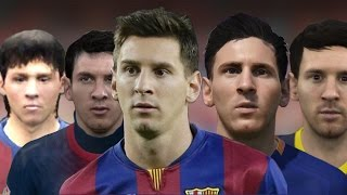 getlinkyoutube.com-Lionel Messi From FIFA 06 to 16