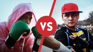 getlinkyoutube.com-Live Action Smash Bros - Little Mac vs Dark Ness