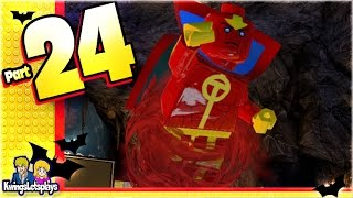 getlinkyoutube.com-LEGO BATMAN 3 - Unlocking Red Tornado, Doomsday & Metallo!