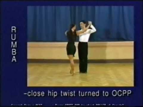 Rumba dance steps 24. Close hip twist turned to OCCPwmv