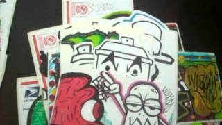 getlinkyoutube.com-New Stickers thats Im trading (graffiti stickers) from WIZARD