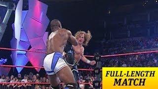 getlinkyoutube.com-FULL-LENGTH MATCH - Raw - Shawn Michaels vs. Shelton Benjamin