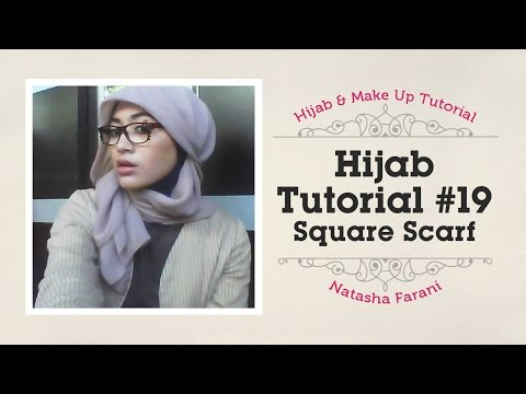 #19 Hijab tutorial paris simple   natasha farani