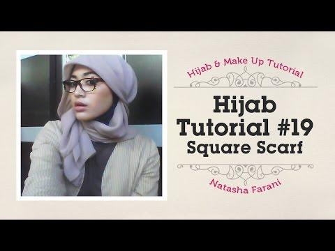 #19 Hijab tutorial paris simple   natasha farani