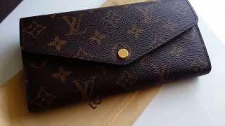 getlinkyoutube.com-Louis Vuitton Sarah Wallet Overview