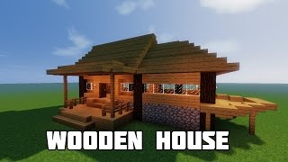 getlinkyoutube.com-MINECRAFT BUILD TUTORIAL : HOW TO BUILD A STARTER HOUSE| Best Starter House / Starter Home