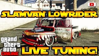 getlinkyoutube.com-GTA 5 Online Lowriders: Custom Classics - SlamVan Lowrider Live Tuning! [PlayStation 4, Deutsch]