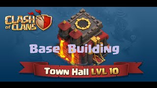 getlinkyoutube.com-TH10 War Base Building with 275 Walls (New update Clash of Clans) #1