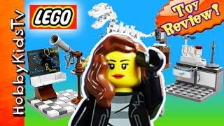 getlinkyoutube.com-Trixe LEGO Research Institute [21110] Awesome Geeks Nerds Rule by HobbyKidsTV