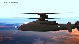 getlinkyoutube.com-Boeing Sikorsky - SB-1 Defiant Joint Multi-Role High Speed Helicopter Simulation [720p]