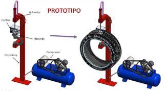 getlinkyoutube.com-Prototipo de un sistema Vulcanización para la reparación de neumáticos
