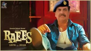 Gen. Raheel in & as Raees | Raees Trailer | Raheel Shreef vs Modi